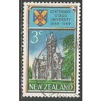 Новая Зеландия. 100 лет университету Отаго. 1969г. Mi#502.