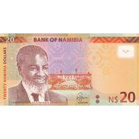 Намибия 20 долларов образца 2018 года UNC p17