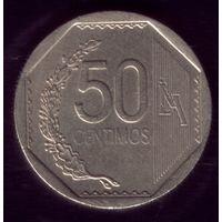 50 сентимос 2002 год Перу