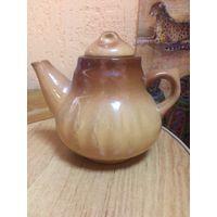 Чайник-заварник глиняный (СССР)