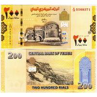 Йемен  200 риалов  2019 год  UNC