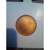 5 евроцентов Словения 2007 года.