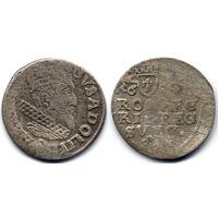 Трояк (3 гроша) 1632, Густав II Адольф, Эльблонг