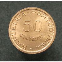 Португ. Сан-Томе и Принсипи 50 сентаво 1971