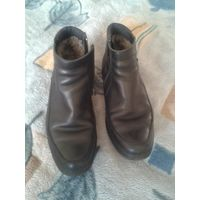 Зимняя обувь для мальчика (размер 38-39)