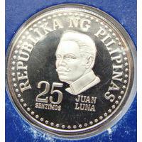 Филиппины 25 сентимо 1976 г