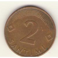 2 сантима 2000 г.