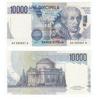 Италия 10000 лир образца 1984 года UNC p112d