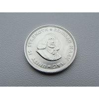 Южная Африка. ЮАР. 5 центов 1964 года KM#59 Серебро!!!