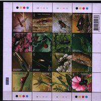 2005 Мальта фауна Насекомые лист**