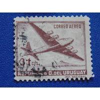 Уругвай 1947/48 г.  Авиация.