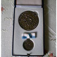 Медаль  25 лет выслуги   Бавария
