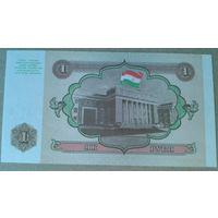 Таджикистан як рубл