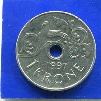 Норвегия 1 крона 1997