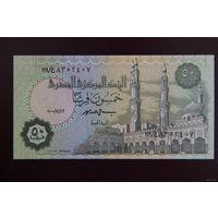 Египет 50 пиастров 2000 UNC
