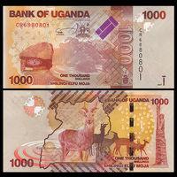 Уганда. 1000 шиллингов 2013 [UNC]