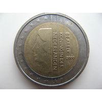 Нидерланды 2 евро 2000г.   Распродажа!!!