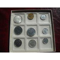 Сан-Марино официальный набор 1977 года (500 лир - серебро, СОСТОЯНИЕ!!!)