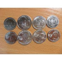 Индонезия набор из 4 монет 2016 год UNC