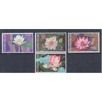 [1547] Таиланд 1973. Флора.Цветы.