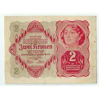 Австрия 2 кроны 1922 год.