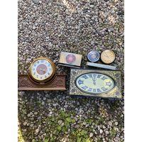Часы настольные разные ( Лот с рубля )