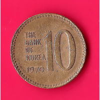 21-43 Южная Корея, 10 вон 1970 г.