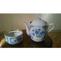 Чайник с васильками