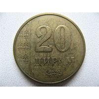 Таджикистан 20 дирам 2011 г.