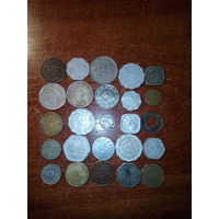 Индия 25 монет