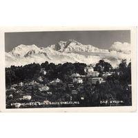 Почтовая карточка, штемпель Индия, 1934 г.