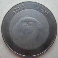Алжир 10 динаров 2015 г.