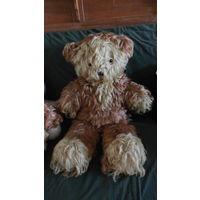 Большой советский лохматый мишка.Медведь