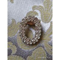 Брошь-кольцо для платка. 80-е годы.