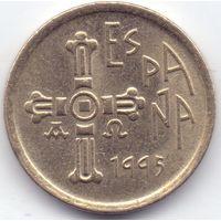 Испания, 5 песет 1995 года.  Астурия.