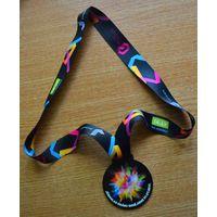Медаль спортивная. Юрмальский красочный марафон