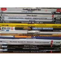 30 игр на дисках для пк