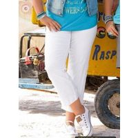 Белые джинсовые капри 52-54-56