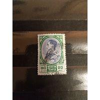 1961 Таиланд король высокономинальная марка (4-6)