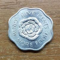 Сейшельские острова 5 центов 1972_РАСОДАПРЖА КОЛЛЕКЦИИ