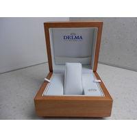 Коробка от наручных часов Delma оригинальная 12х12 см