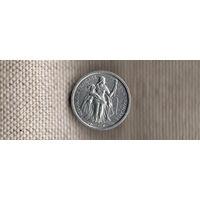 Океания 50 сантимов 1949/колония Франции/блеск(Xt)