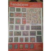 Sandafayre Аукционный каталог марок # 5231 от 27.08.14. Англия