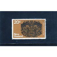 Новая Зеландия. Ми-531.Татуировка племени маори.1974.