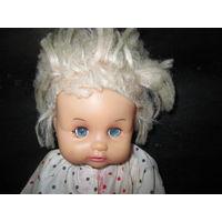Кукла из СССР.высота 30 см.