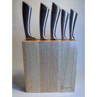Набор ножей Brunbeste 4518 на деревянной стойке!