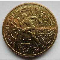 """Польша 2 злотых 2012 """"Польcкая олимпийская сборная. Лондон-2012"""""""