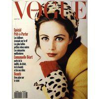 Vogue. Август 1991 год