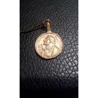 Религиозный медальон 17-18 века
