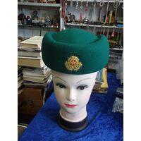 Пограничный женский головной убор. 56 размер.